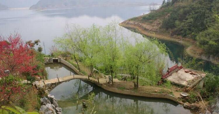 湖北   阳新县   仙岛湖 - 海阔山遥 - .