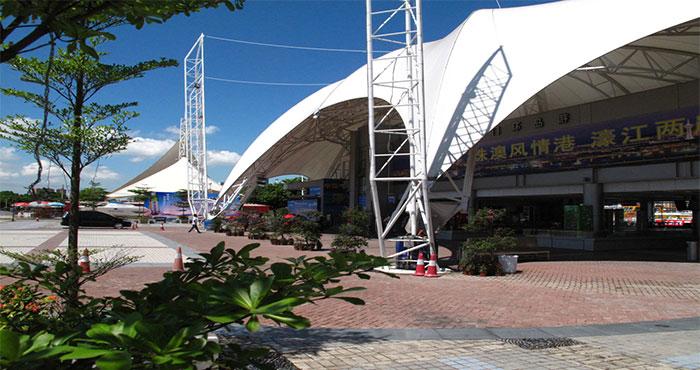 澳门环岛游湾仔旅游码头新码头新邮轮澳门环岛游全新升级