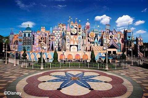 香港迪士尼乐园小小世界