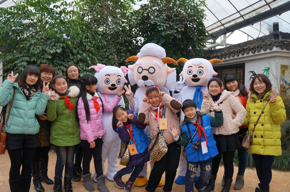 """四季强丰,百""""画""""长廊——寻找上海最美的春天亲子活动招募啦!谁是最萌小羊羔"""