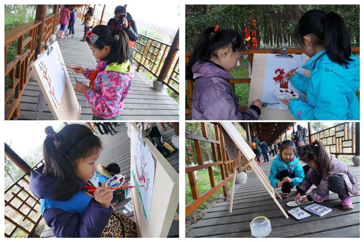 """四季强丰,百""""画""""长廊——寻找上海最美的春天亲子活动招募啦!我的画被选中了吗"""