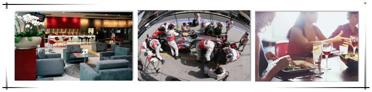 2015年F1中国大奖赛尊享主看台会所包厢