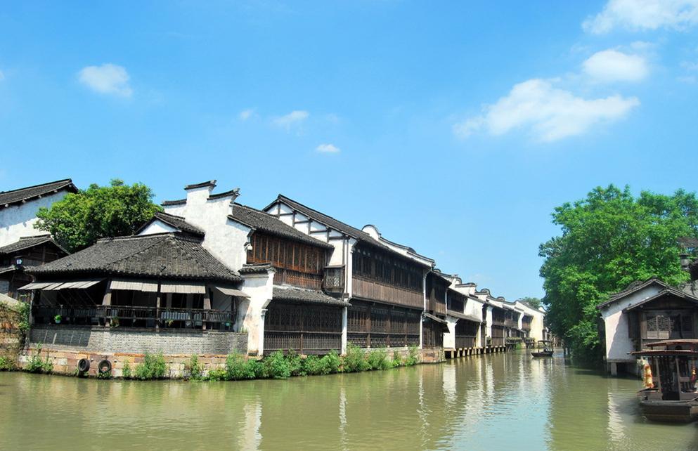 上海、苏州、乌镇西栅、西塘、杭州巴士4日当地游玩转双园林三水乡,夜游乌镇西栅,漫步西湖,高标酒店,享特色茶宴