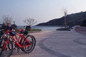 惠州大亚湾、碧海湾漂流、浪漫单车骑行巴士1日跟团游浪漫骑行、漂流特惠游
