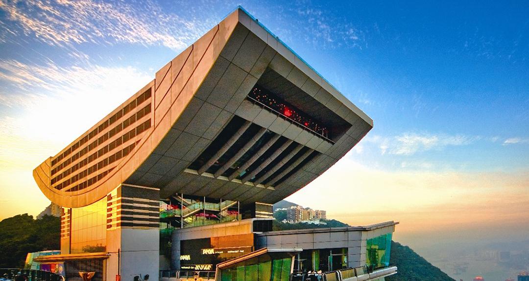 香港杜莎夫人蜡像馆360度完美风景,绝佳视觉体