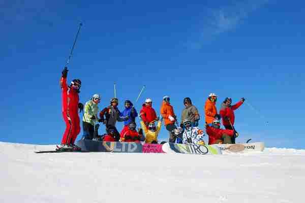 金龙山滑雪场