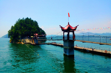 千岛湖森林氧吧、骑行纯玩3日巴士跟团游[亲子出行]宿千岛湖名湖大酒店