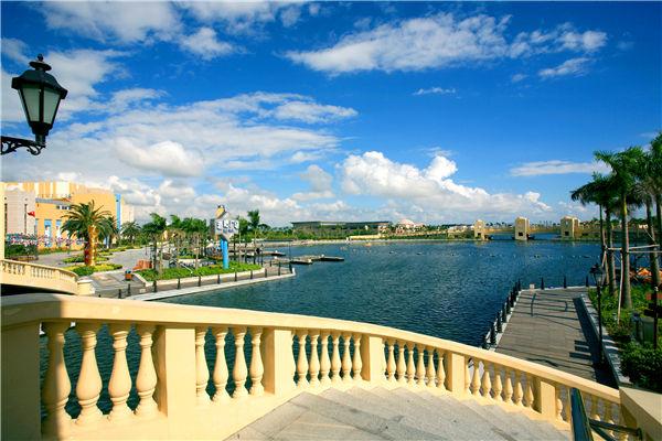 珠海海泉湾逛渔人码头