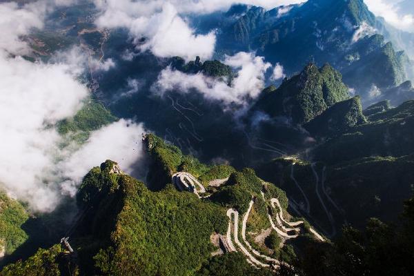 张家界天门山国家森林公园天界佛国风景区