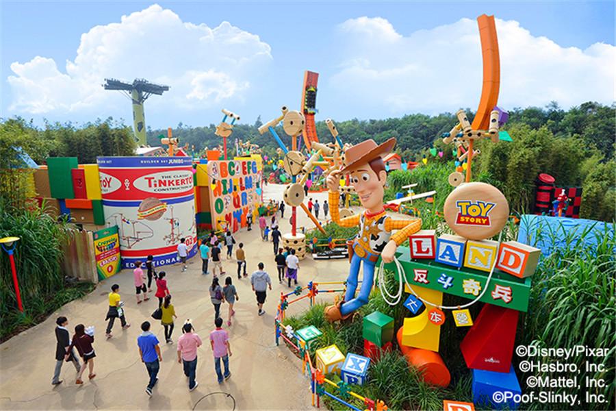 香港迪士尼樂園反鬥奇兵大本營