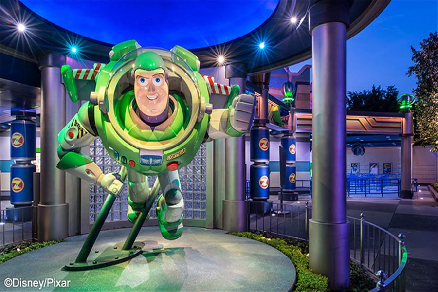 香港迪士尼樂園明日世界