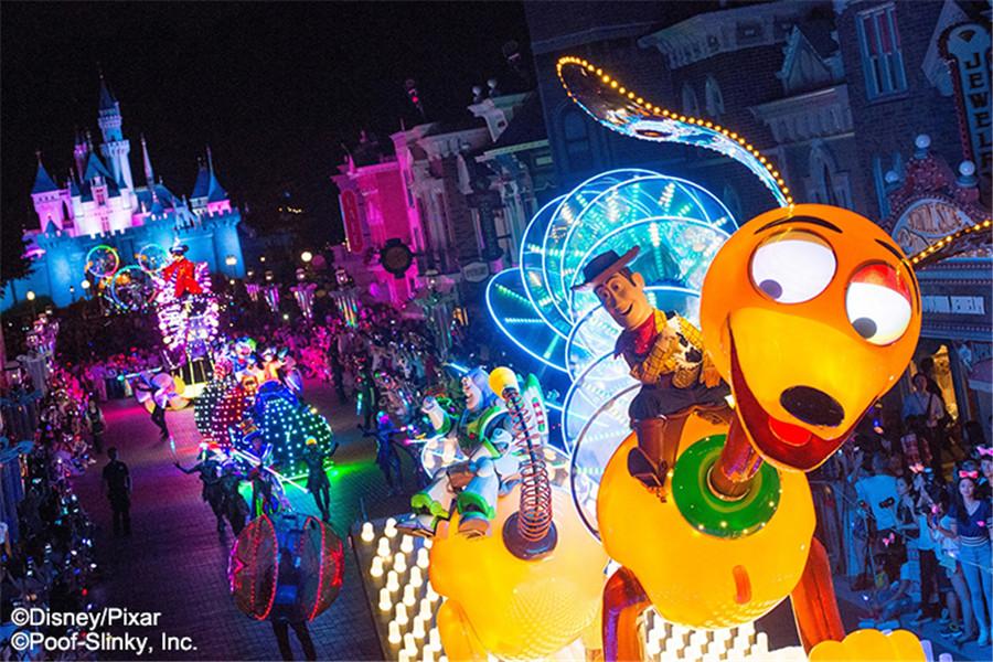 香港迪士尼樂園迪士尼光影匯
