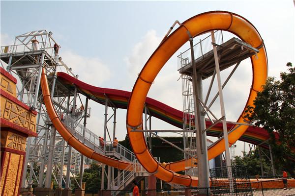 深圳欢乐谷玛雅水公园之羽蛇神环