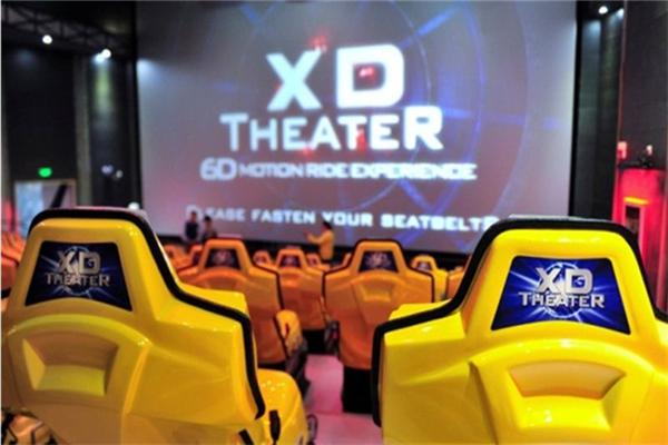 深圳欢乐谷XD动感影院