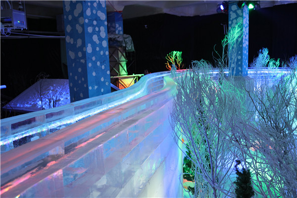 长津冰雪大世界精致冰雕