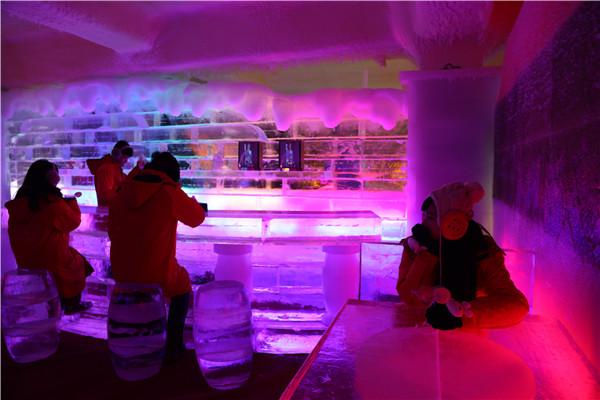 长津冰雪大世界热饮吧