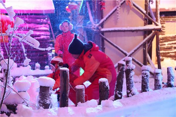 长津冰雪大世界迷你雪乡