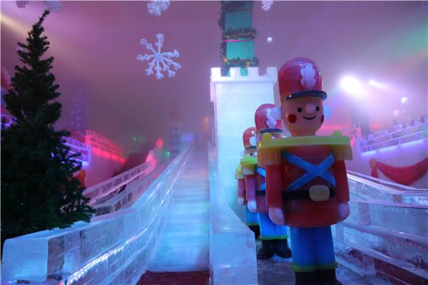长津冰雪大世界滑道