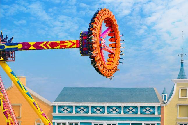 蓬莱欧乐堡梦幻世界雷神之锤
