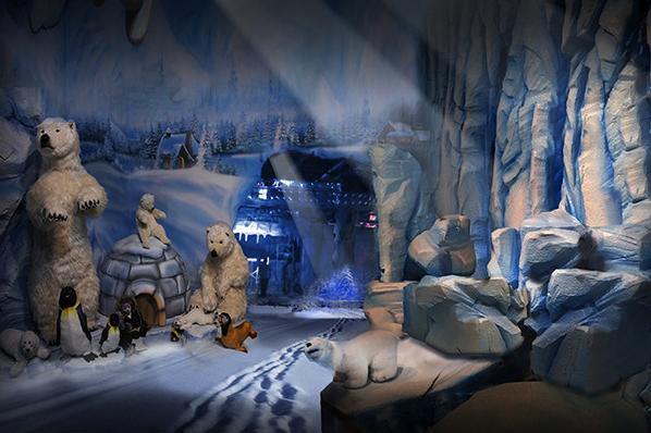南京好莱坞魔法城冰封雪境