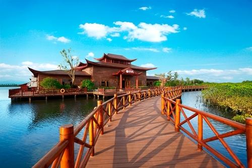 澄迈富力红树湾湿地公园