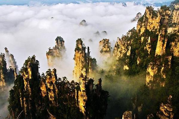 张家界核心景区武陵源(张家界国家森林公园)索溪峪