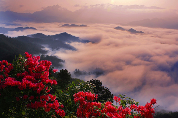 薄刀峰风景区
