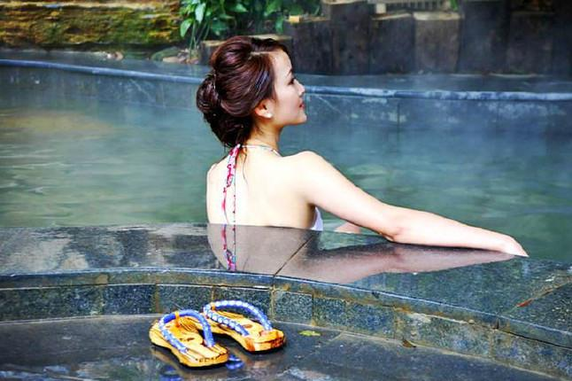 广州增城金叶子温泉1日游远离城市喧嚣,感受来自高山的温泉,水果、饮料免费畅饮