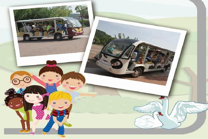 无锡动物园·太湖欢乐园电动观光车