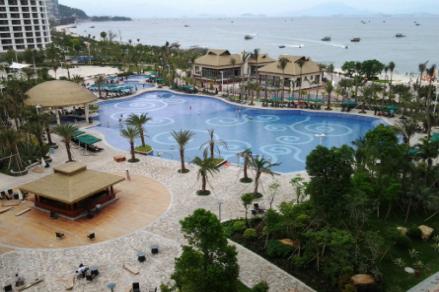 惠州巽寮湾沙滩、海公园度假酒店巴士2日跟团游酒店含早、5星一线海滨度假酒店、海滨度假直通车