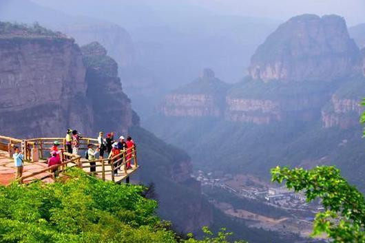长治壶关太行山大峡谷-八泉峡-红豆峡巴士2日当地游游国家森林公园,观太行山奇异自然风光