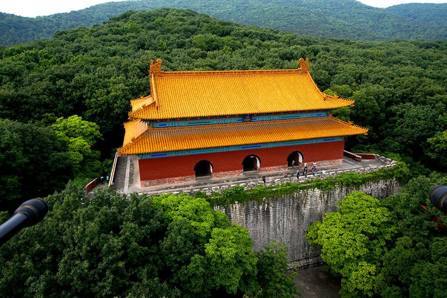 南京明孝陵风景区享殿