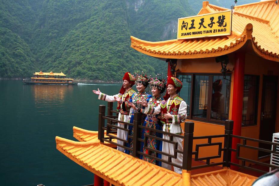 长阳清江画廊1日巴士跟团游[]八百里清江美如画,土家的母亲河