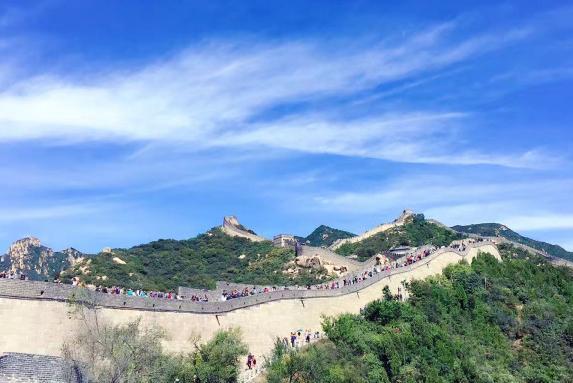 北京八达岭长城、定陵一日游巴士1日游五环内接,含可口午餐