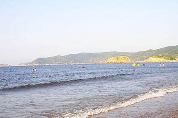 嵊泗基湖沙滩