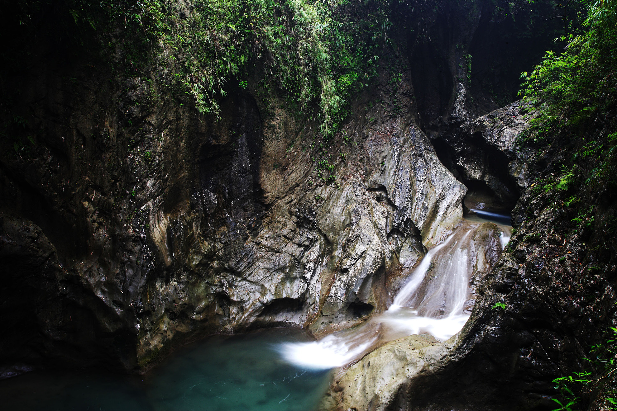 金刀峡1日巴士跟团游峡谷自然风景