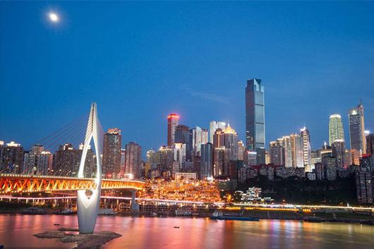 重庆一地半自助5日游4晚住渝中半岛区域品质酒店,含武隆1日跟团游,充足自由活动时间,赠送麻辣火锅或夜景游船