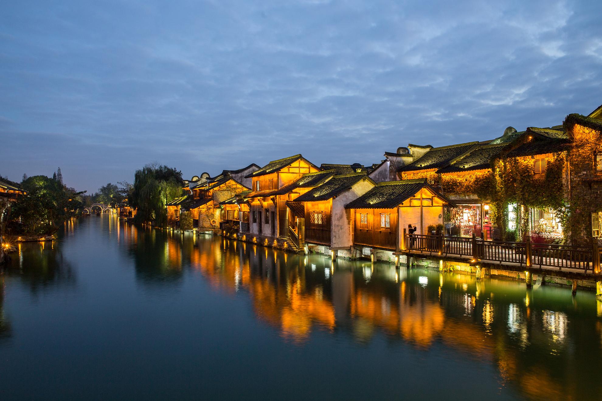 苏州、上海、杭州、乌镇3日深度游国际品牌酒店 乌镇西栅内客栈 餐标50元 慢游新主张
