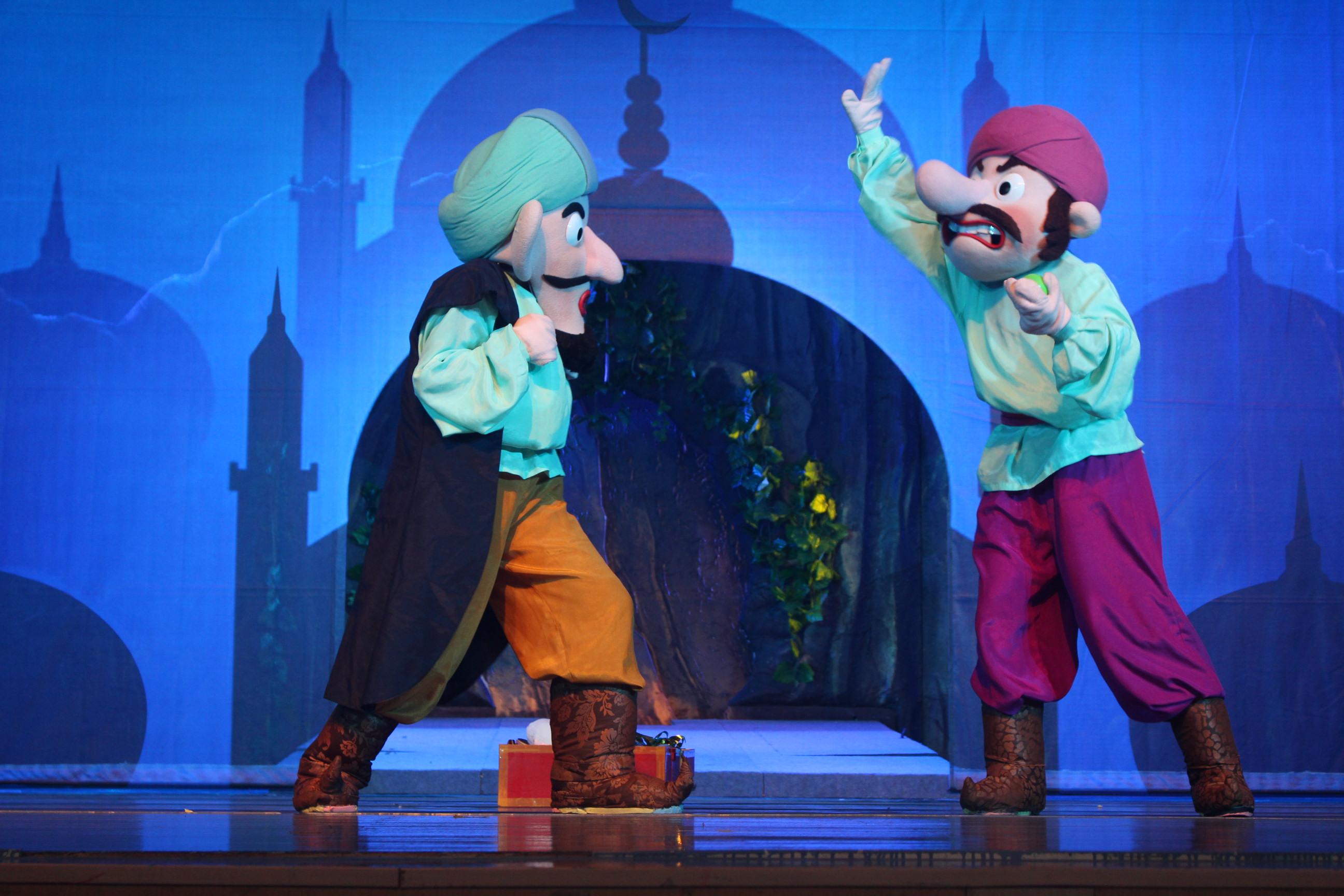 无锡动物园·太湖欢乐园舞台剧阿里巴巴与四十大盗