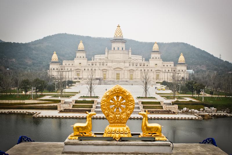 灵山大佛世界级佛教文化艺术殿堂灵山梵宫