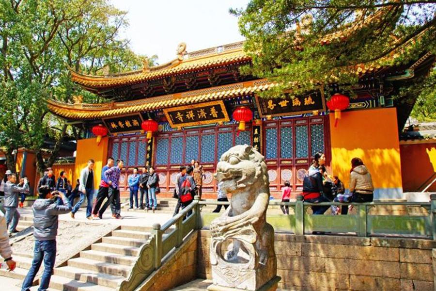 上海至舟山普陀山景区自由行含往返大巴车+住宿含早2日1晚半自助跟团游