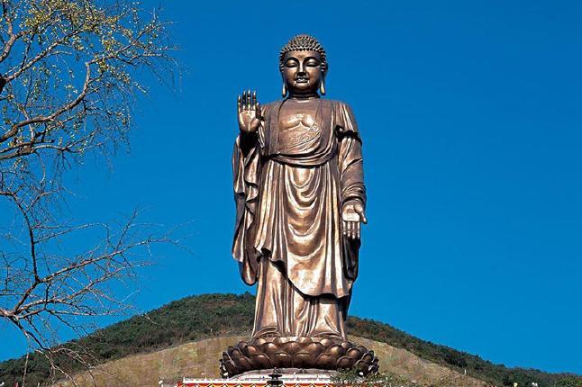 无锡灵山大佛-灵山梵宫-五印坛城-九龙灌浴纯玩1日跟团游