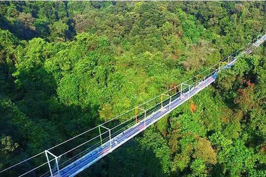融水双龙沟原始森林景区