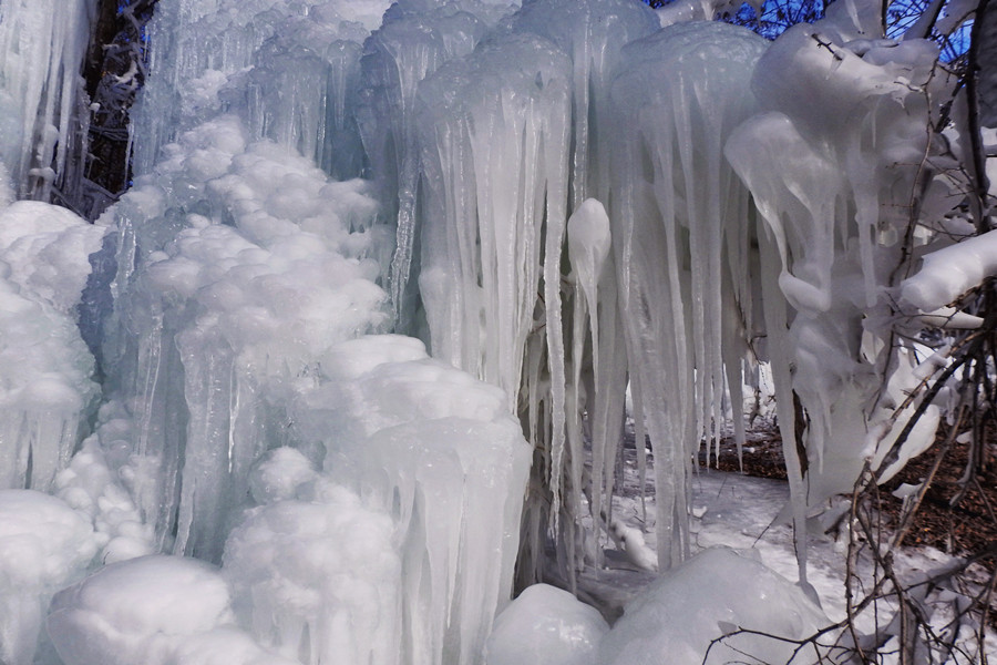 玉渡山雪世界玉渡山雪世界