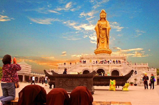 【驴妈妈专线】『印象普陀,祈福拜山』上海出发至普陀山登佛顶山纯玩含早2日1晚跟团游