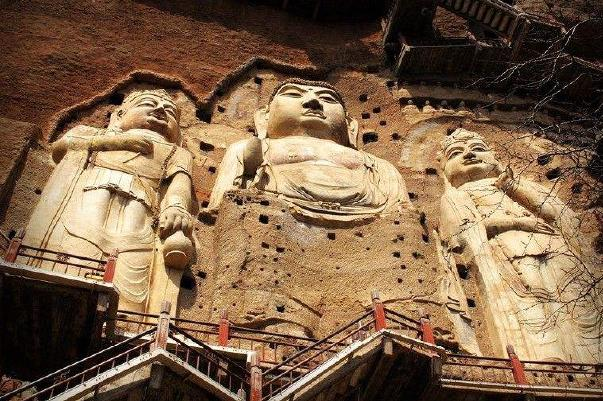 甘肃兰州、天水伏羲庙、天水麦积山石窟动车2日当地游