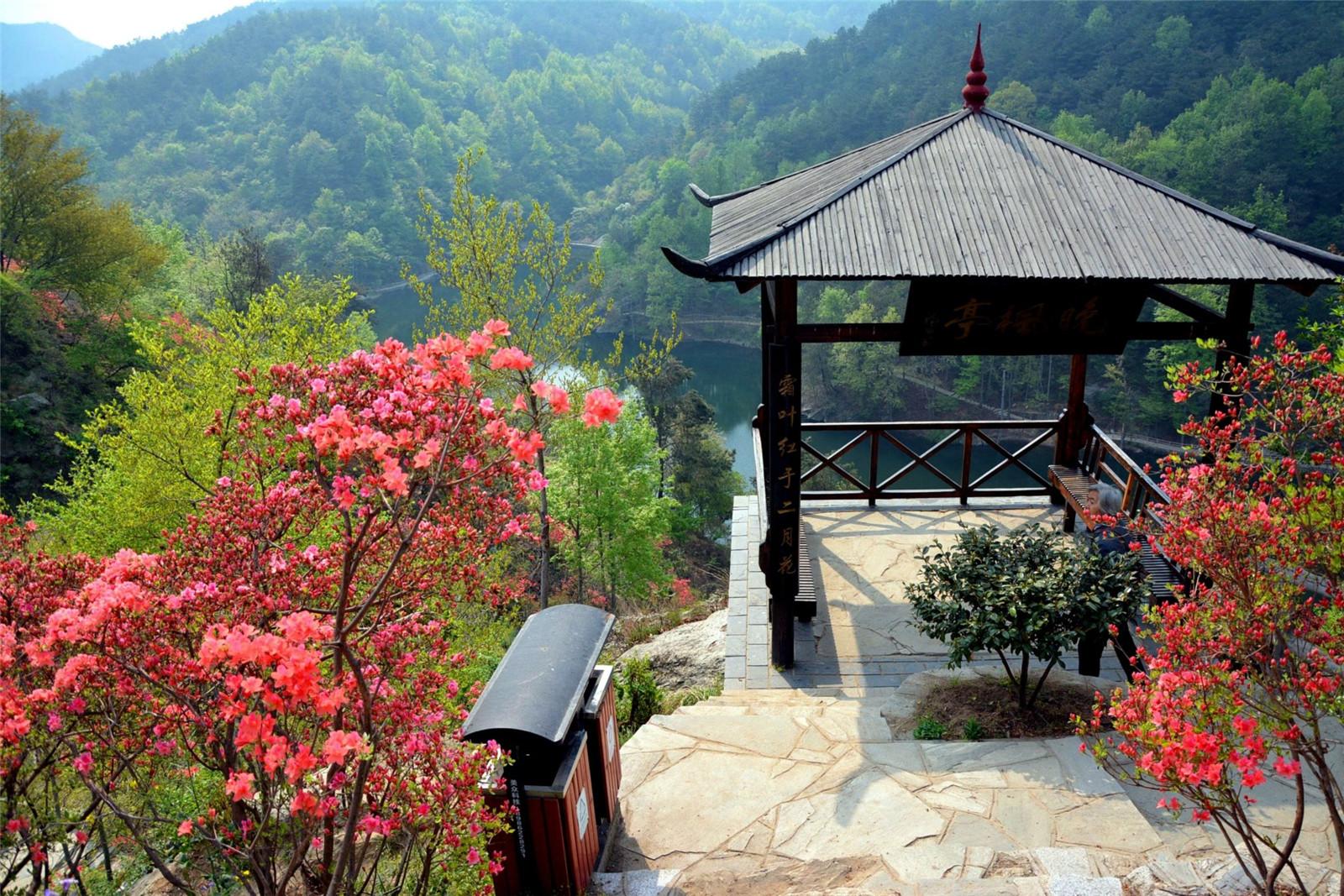 黄陂木兰清凉寨3D玻璃桥1日巴士跟团游体验山湖美景