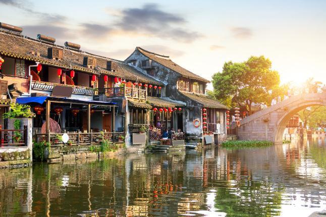 西塘1日巴士跟团游生活着的千年古镇—— 西塘