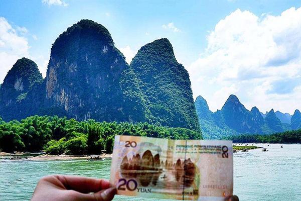 桂林漓江,象鼻山,遇龙河竹筏,阳朔西街巴士2日游