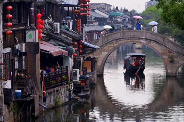 西塘古镇品质纯玩1日巴士跟团游[大促]活着的千年古镇,欣赏西塘美景,品味古朴而宁静的水乡风景